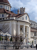 Kurhaus in Meran-Merano, Bozen &ndash; S&uuml;dtirol, Italien<br /> Spa building, Meran-Merano, province Bozen-South Tyrol, Italy