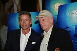 Calvin Klein and Ric O'Barry at the New York Screening of The Cove, Cinema 2, NYC. (Photo by Sue Coflin/Max Photos)