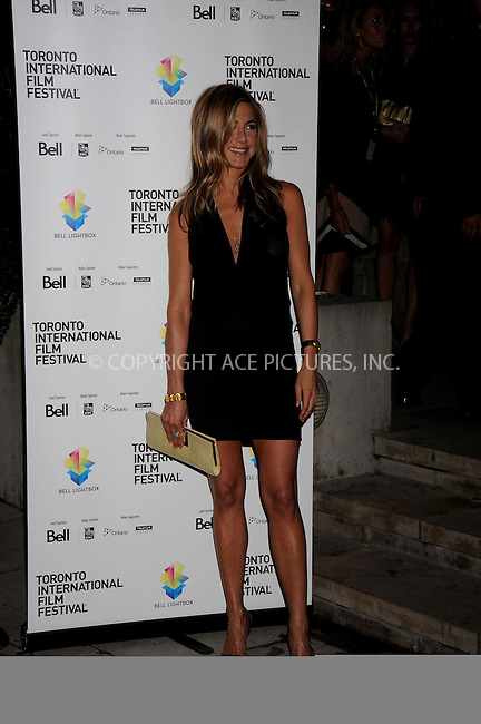 WWW.ACEPIXS.COM . . . . .....September 7, 2008. Toronto, Canada....Actress Jennifer Aniston attends the 2008 Toronto International Film Festival 'Management' Premiere held at the  Isabel Bader Theatre on September 7, 2008 in Toronto, Canada...  ....Please byline: Kristin Callahan - ACEPIXS.COM..... *** ***..Ace Pictures, Inc:  ..Philip Vaughan (646) 769 0430..e-mail: info@acepixs.com..web: http://www.acepixs.com
