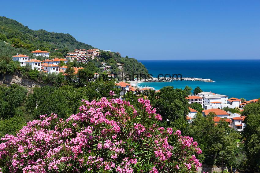 Greece, Thessaly, peninsula Pelion (also named Pilion), Agios Ioannis bay and resort | Griechenland, Thessalien, Halbinsel Pelion (auch Pilion), Bucht und Badeort Agios Ioannis