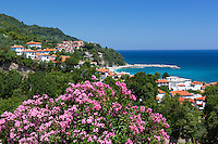 Greece, Thessaly, peninsula Pelion (also named Pilion), Agios Ioannis bay and resort | Griechenland, Thessalien, Halbinsel Pelion (auch Pilion), Bucht und Badeort Agios Ioannis