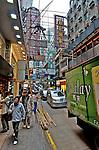 Hong Kong, 2012  A street scape in Hong Kong.