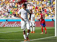 Daniel Sturridge of England looks dejected