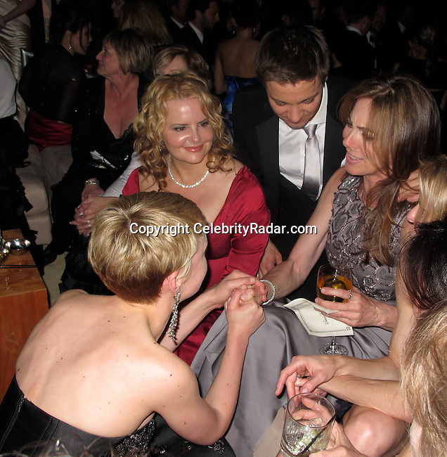 **EXCLUSIVE**.Kathryn Bigelow, Jeremy Renner and Carey Mulligan..Vanity Fair Oscar Party..Sunset Tower Hotel..Hollywood, CA, USA..Sunday, March 07, 2010..Photo By CelebrityRadar.com.To license this image please call (212) 410 5354; or Email: CelebrityRadar10@gmail.com ; .website: www.CelebrityRadar.com.