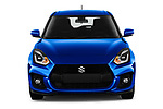 Car photography straight front view of a 2018 Suzuki Swift Sport Base 5 Door Hatchback