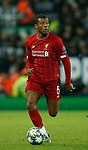 Georginio Wijnaldum of Liverpool during the UEFA Champions League match at Anfield, Liverpool. Picture date: 27th November 2019. Picture credit should read: Andrew Yates/Sportimage