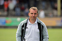 Pictured: Swansea manager Brendan Rodgers. Saturday 17 July 2011<br />