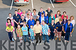 North Kerry Eagles : Members of the North Kerry Eagles and their parents pictured prior to their annual disco at the Listowel Family Resource Centre.....Ref Jimmy Darcy.
