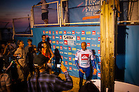 LA GRAVIERE, Hossegor/France (Thursday, October 4, 2012) -  The Quiksilver Pro France, Stop No. 7 of 10 on the 2012 ASP World Championship Tour, was called back on this morning with the remaining four heats of Round 3 commencing at 8:15am in four-to-six foot (1 - 1.5 metre) waves at La Graviere. The event continued throughout the day with Rounds 4 and 5 completed followed by the quarter finals with the last quarter of kelly Slater vs Kieren Perrow run after the sun had set.. Photo: joliphotos.com