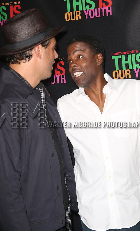 Bobby Cannavale and Chris Rock attend the Broadway Opening Night Performance of 'This Is Our Youth' at the Cort Theatre on September 11, 2014 in New York City.