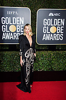 Nominated for BEST PERFORMANCE BY AN ACTRESS IN A MOTION PICTURE &ndash; COMEDY OR MUSICAL for her role in &quot;I, Tonya,&quot; actress Margot Robbie arrives at the 75th Annual Golden Globe Awards at the Beverly Hilton in Beverly Hills, CA on Sunday, January 7, 2018.<br /> *Editorial Use Only*<br /> CAP/PLF/HFPA<br /> &copy;HFPA/PLF/Capital Pictures