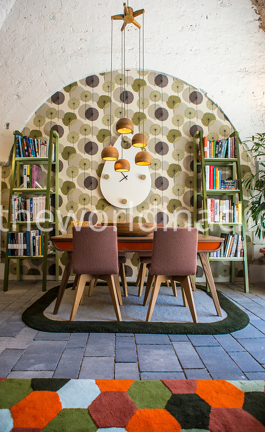 ISRAEL, Tel Aviv, interior of Elemento Furniture store in Jaffa area
