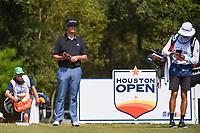 Beau Hossler (USA) looks over his tee shot on 2 during round 4 of the 2019 Houston Open, Golf Club of Houston, Houston, Texas, USA. 10/13/2019.<br /> Picture Ken Murray / Golffile.ie<br /> <br /> All photo usage must carry mandatory copyright credit (© Golffile | Ken Murray)