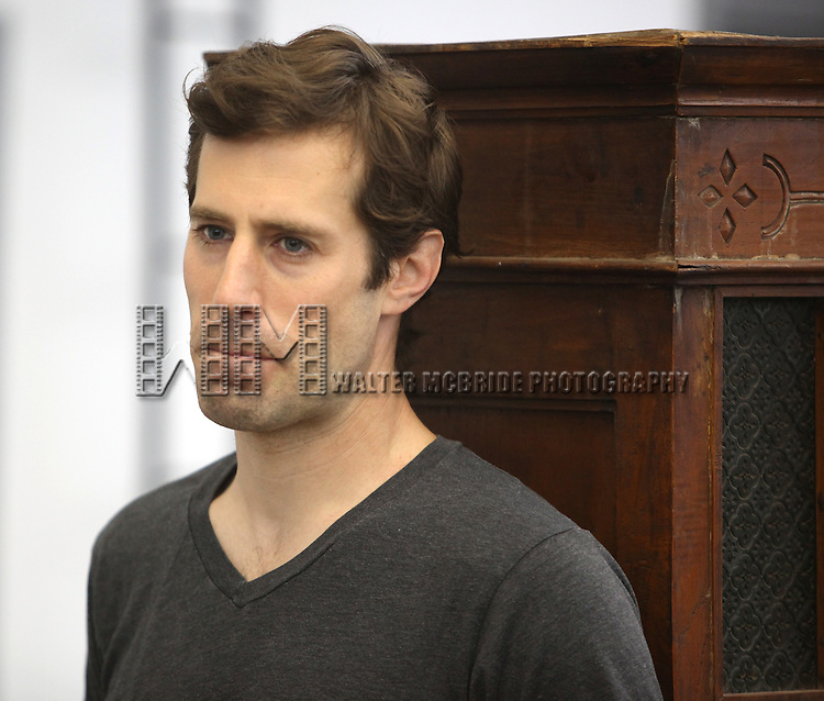 Josh Cooke.attending the Meet & Greet for the Roundabout Theatre Company's Off-Broadway Production of 'The Common Pursuit' at their Rehearsal Studios in New York on 4/6/2012.