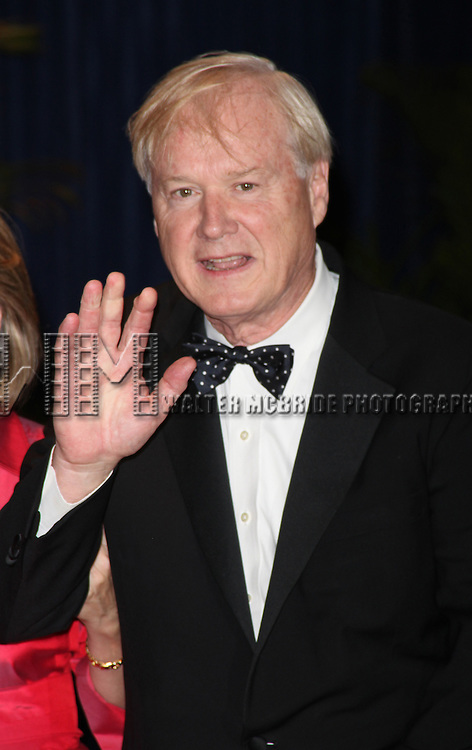 Chris Matthews<br />arriving for the 2010 White House Correspondents Dinner May 1, 2010 at the Washington Hilton Hotel in Washington, DC.  May 1, 2010