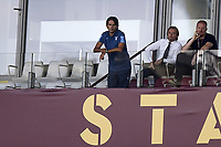 Simone Inzaghi coach of SS Lazio, disqualified , attends from the stands the Serie A football match between Torino FC and SS Lazio at stadio Olimpico in Turin ( Italy ), June 30th, 2020. Play resumes behind closed doors following the outbreak of the coronavirus disease. <br /> Photo Image Sport / Insidefoto