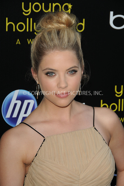WWW.ACEPIXS.COM . . . . .  ....May 20 2011, LA....Ashley Benson arriving at the 2011 Young Hollywood Awards at Club Nokia on May 20, 2011 in Los Angeles, California. ....Please byline: PETER WEST - ACE PICTURES.... *** ***..Ace Pictures, Inc:  ..Philip Vaughan (212) 243-8787 or (646) 679 0430..e-mail: info@acepixs.com..web: http://www.acepixs.com