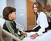Queen Rania Visits Children's Hospital