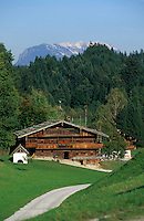 Europe/Autriche/Tyrol/Env Kramsach: Chalet