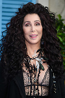 Cher arriving for the &quot;Mama Mia! Here We Go Again&quot; world premiere at the Eventim Apollo, Hammersmith, London, UK. <br /> 16 July  2018<br /> Picture: Steve Vas/Featureflash/SilverHub 0208 004 5359 sales@silverhubmedia.com
