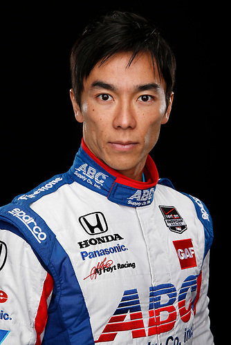 17 February 2015, Indianapolis, Indiana, USA<br /> Takuma Sato<br /> ©2015, Michael L. Levitt<br /> LAT Photo USA