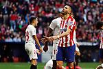 Atletico de Madrid's Carrasco reacts during La Liga match. Mar 07, 2020. (ALTERPHOTOS/Manu R.B.)