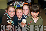 Pictured at the Ice-Cream Party at the KDYS Tralee on Friday were Shauna OShea, Sean.Horan, Katie Horan and Bernice OShea from Tralee.