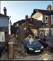 BNPS.co.uk (01202 558833)<br /> Pic:  BNPS<br /> <br /> The scene of the explosion on Sterte Road in Poole last year.<br /> <br /> A vengeful husband who almost killed himself and his ex-wife when he blew up their house out of spite is due to be sentenced today.<br /> <br /> Ian Clowes, 67, has previously pleaded guilty to a charge of arson in connection with the huge gas explosion that ripped apart the semi-detached property in Poole, Dorset, last October.