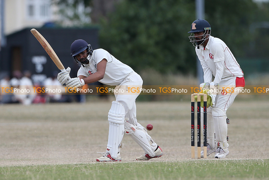 Frenford CC vs Ilford CC (batting), Essex Cricket League Cricket at the Jack Carter Centre on 1st August 2020