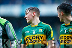 Michael Potts Kerry players after defeating Cavan in the All Ireland Minor Semi Final in Croke Park on Sunday.