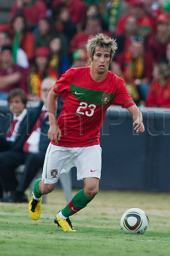 Fabio Coentrao (POR), JUNE 8, 2010 - Football : International Friendly match between Portugal 3-0 Mozambique at the Wanderers stadium in Johannesburg, South Africa.