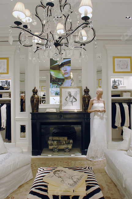The second floor and women's wear section of the new Ralph Lauren store that opened officially on May 16, 2007 in downtown Moscow. Moscow, Russia, May 14, 2007.