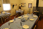 Dining room at Sonoma State Historic Park