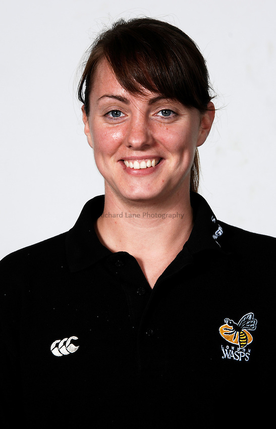 Photo: Richard Lane..London Wasps Photocall. 23/08/2006. .Wasps physio, Kate Rehill.