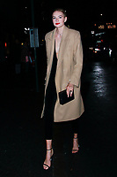 NEW YORK, NY - FEBRUARY 7: Sanne Vloet  seen on February 7, 2019 in New York City. <br /> CAP/MPI/DC<br /> &copy;DC/MPI/Capital Pictures