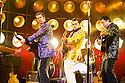 Million Dollar Quartet. Book by Colin Escott and Floyd Mutrux directed by Eric Schaeffer. With Robert Britton Lyons as Carl Perkins,Michael Malarkey as Elvis Presley, Derek Hagen as Johnny Cash. Opens at The Noel Coward  Theatre on 28/2/11  CREDIT Geraint Lewis