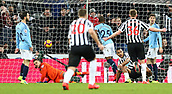 29th January 2019, St James Park, Newcastle upon Tyne, England; EPL Premier League football, Newcastle United versus Manchester City; Jose Salomon Rondon of Newcastle United scores past Ederson of Manchester City to make it 1-1 in the 66th minute