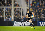 September 29, 2018. Jose Amalfitani, Buenos Aires, Argentina. Beauden Barrett aiming to the argentine ingoal during second half of the match.