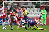 Paul Taylor of Stevenage during Stevenage vs Exeter City, Sky Bet EFL League 2 Football at the Lamex Stadium on 10th August 2019