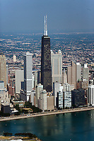 aerial photograph John Hancock Center, Chicago, Illinois