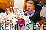 Artist Silke Mitchels (Dingle) exhibiting some of her work at the Kerry Christmas Market which was held at the Dingle Bay Hotel over the weekend.