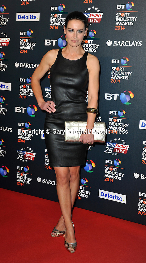 Kirsty Gallacher attends the BT Sport Industry Awards at Battersea Evolution on May 8, 2014 in London, England