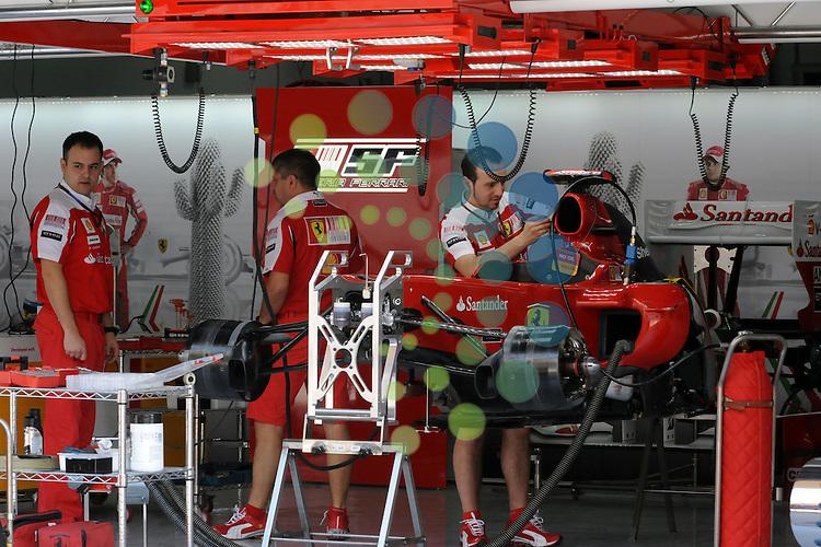 F1 GP Bahrain, Manama 12. - 14. March 2010.Scuderia Ferrari ..Picture: Hasan Bratic/Universal News And Sport (Europe) 11 March 2010.