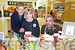 A Taste of Tralee at Manor West Shopping Center on Saturday, Pictured Finbar and Isobel Griffin from St. Brendans Park, Tralee and John Harty (Fab Fudge)