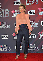 Rita Ora at the 2018 iHeartRadio Music Awards at The Forum, Los Angeles, USA 11 March 2018<br /> Picture: Paul Smith/Featureflash/SilverHub 0208 004 5359 sales@silverhubmedia.com