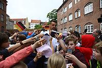 Sandro Wagner (Deutschland Germany) - 07.06.2017: Deutsche Nationalmannschaft besucht St. Petri Schule in Kopenhagen
