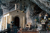 Covadonga Felsenkapelle, Asturien, Spanien