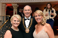 Pictured  at the IHF Ball in the Muckross Park Hotel at the weekend were Ann Mangan, Terence Mulcahy and Catriona White from The International Hotel, Killarney.<br /> Photo: Don MacMonagle<br /> <br /> Repro free photo