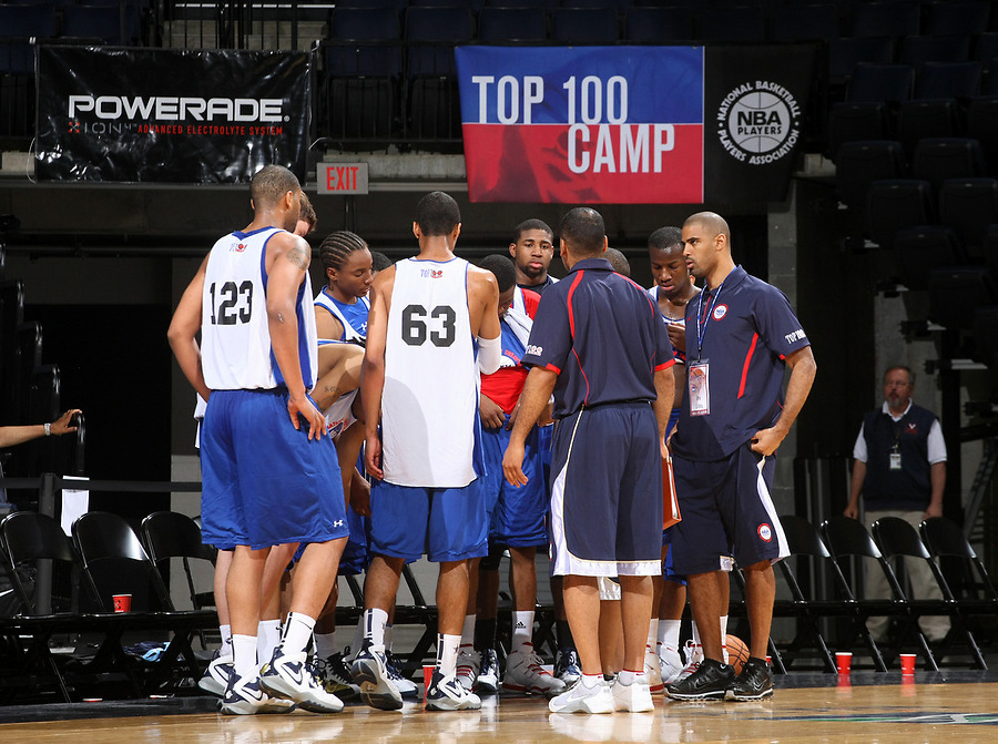 at the NBPA Top100 camp at the John Paul Jones Arena Charlottesville, VA. Visit www.nbpatop100.blogspot.com for more photos. (Photo © Andrew Shurtleff)