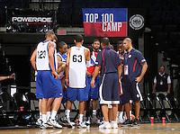 at the NBPA Top100 camp at the John Paul Jones Arena Charlottesville, VA. Visit www.nbpatop100.blogspot.com for more photos. (Photo © Andrew Shurtleff)